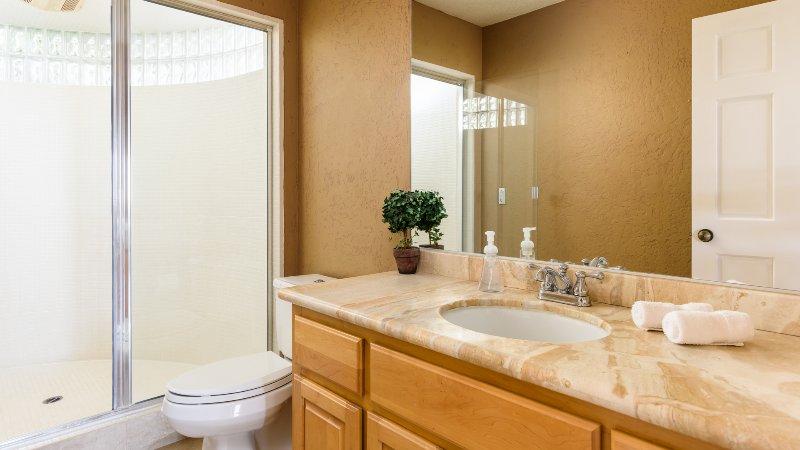 Bathroom #6 with Mr. Steam Shower