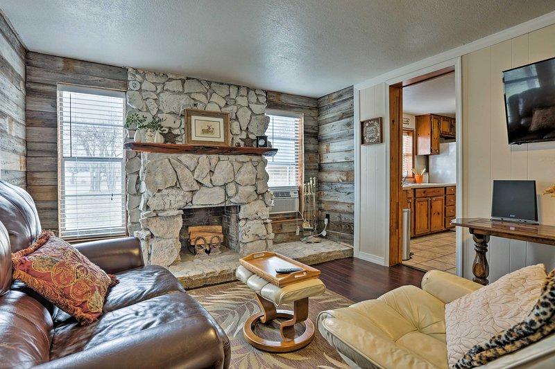 Prenota il tuo viaggio Texas Hill Country in questa casa per le vacanze!