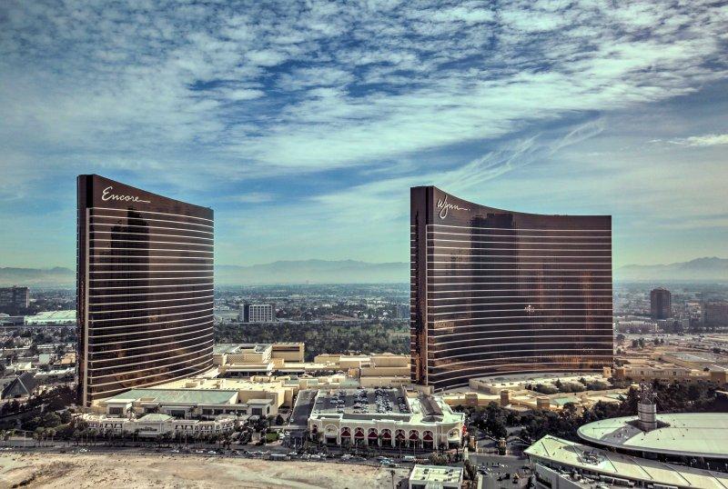 Questo monolocale premier è arroccato sul 43 ° piano con vista mozzafiato di Las Vegas.