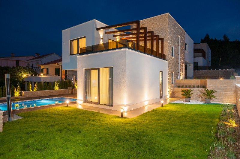 Acommodation Villas Sea Beach Trogir Split Island Croatia Pool Luxury vacation, vacation rental in Okrug Gornji