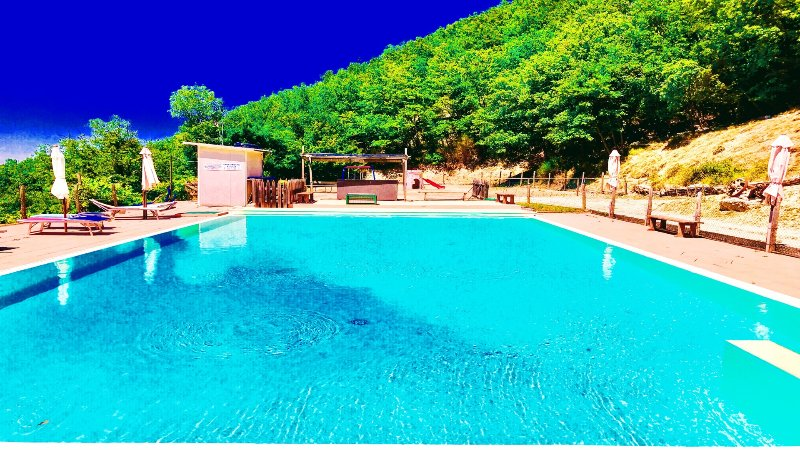 Large private, shared pool at Villa Marianna, 7 kms away, included in the rate