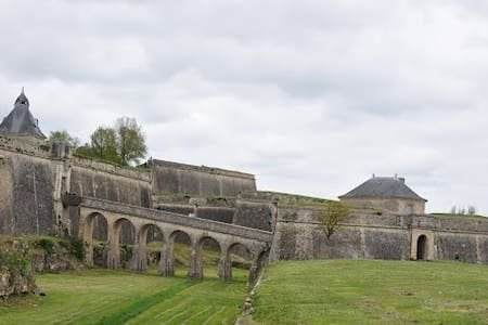 The Citadelle at Blaye, one of the many historic sites within easy reach