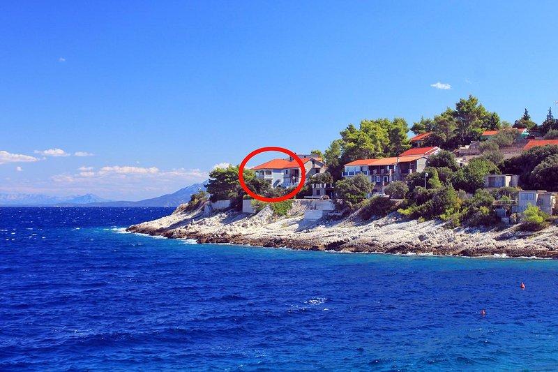 One bedroom apartment Prigradica, Korčula (A-14341-a), holiday rental in Prigradica