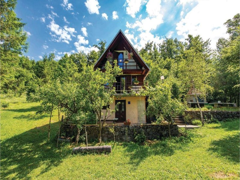 One bedroom house Zlobin, Gorski kotar (K-14727), holiday rental in Brestova