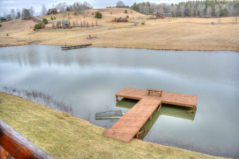 Your private pier in your front yard