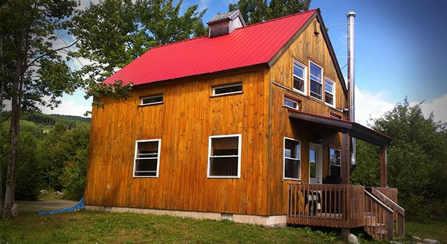 The Red Chalet at Cabot Shores, holiday rental in Big Bras d'Or