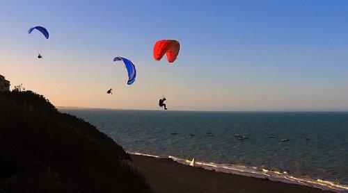 La Loma paragliding and restaurant. Vistas for a lifetime.