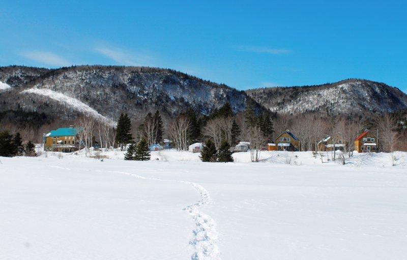 La propiedad en invierno
