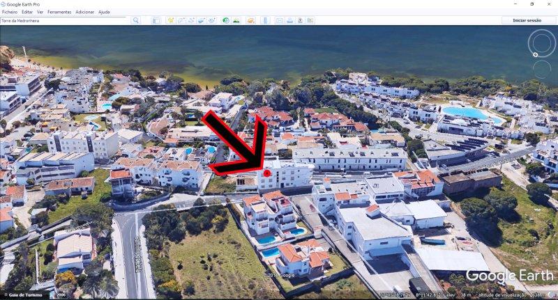 Lage von der Wohnung - Google Earth
