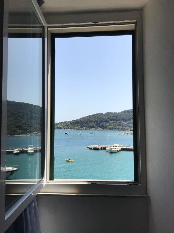 Vista sul mare dall'appartamento