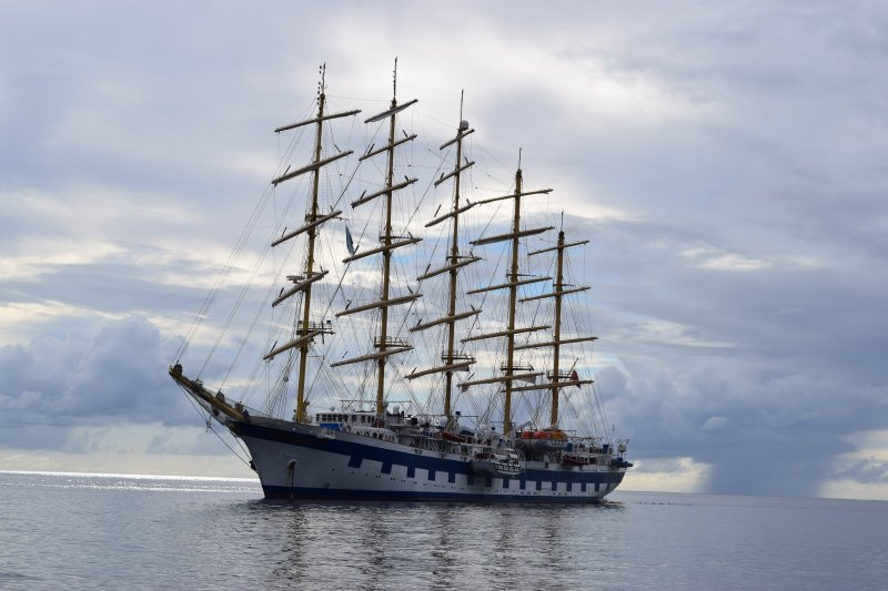 The most interesting ships visit St Lucia