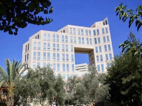 Building Windows of Jerusalem