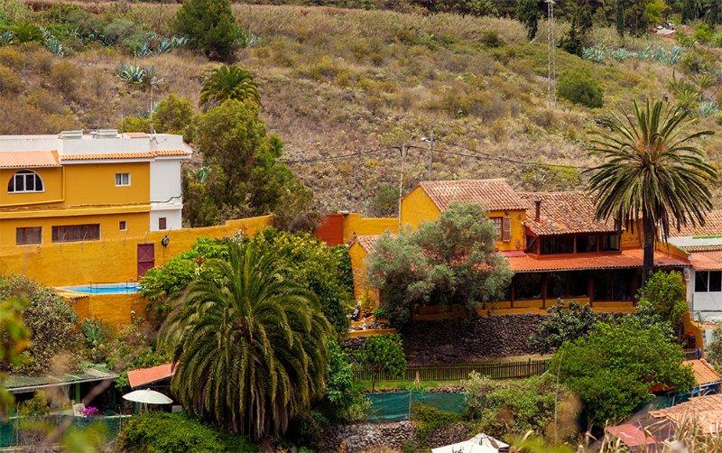 Foto panoramica Yoga Retreat Il Tejano nel loro ambiente naturale.