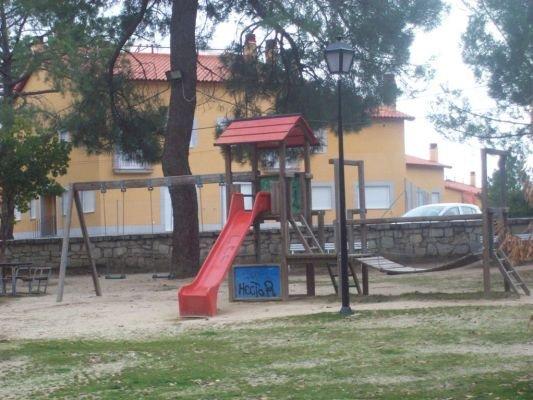 Parque infantil zona común