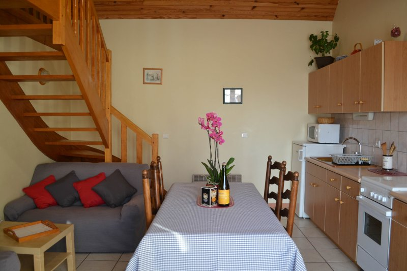 Wohn- / Esszimmer / Küche von 21 m2