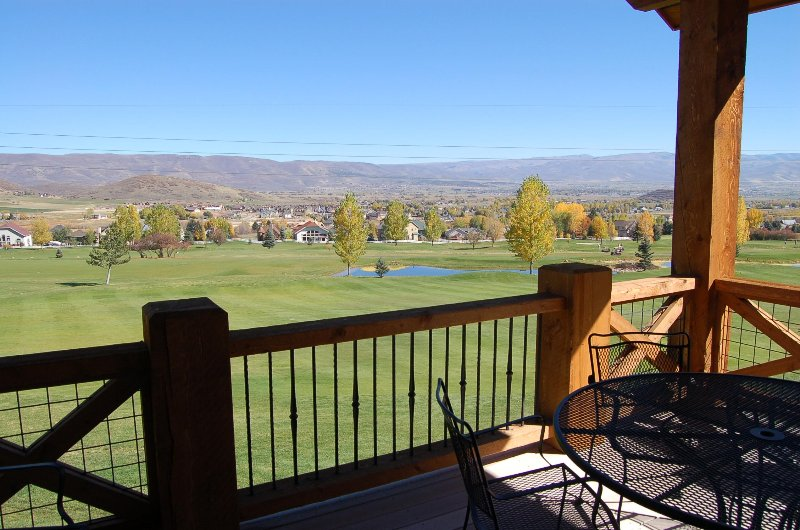 Turnberry Condo in Midway Utah, holiday rental in Timber Lakes