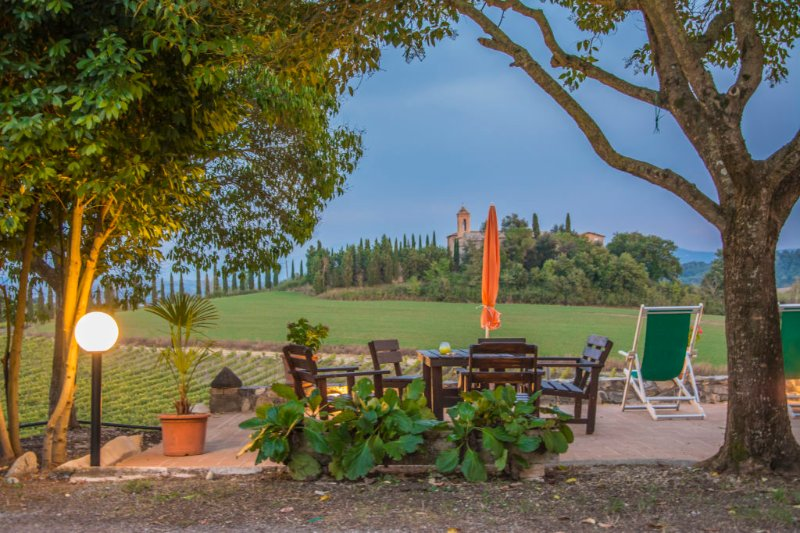Tuscany country apartment for 4, vacation rental in Buonconvento