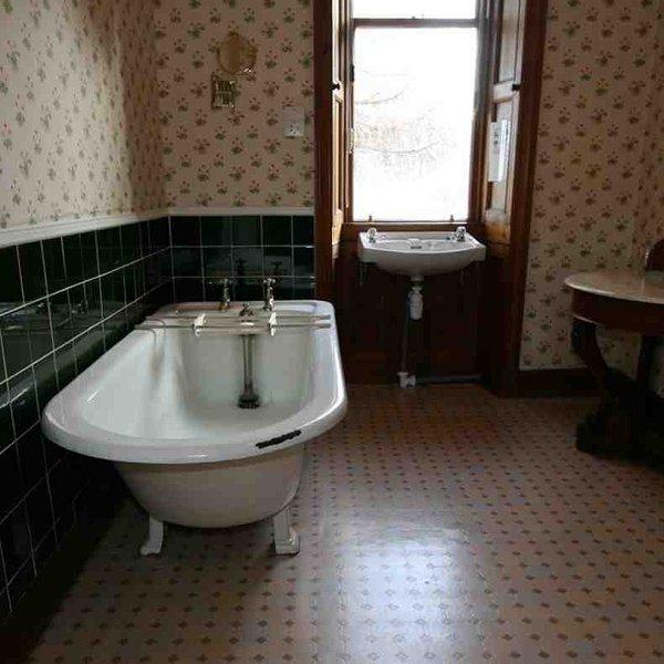 Uma das casas de banho tradicionais