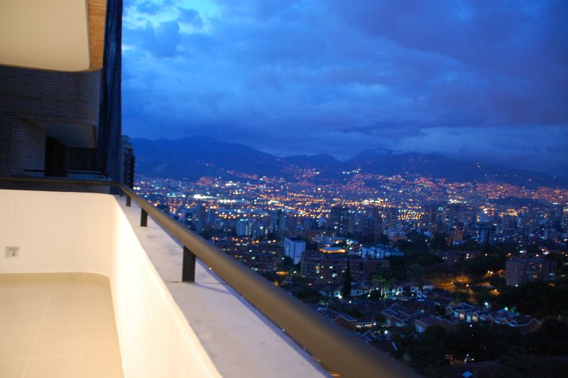 the best view of the city, in the most quiet and exclusive place in Medellin