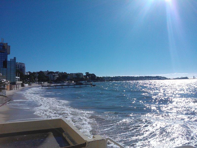 Sea view in November.