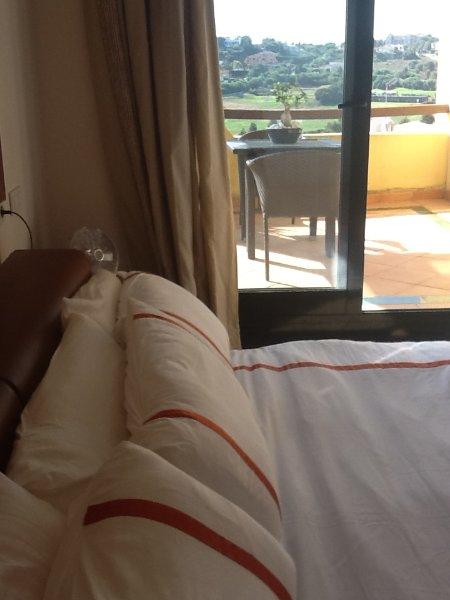 petite terrasse de la chambre 2