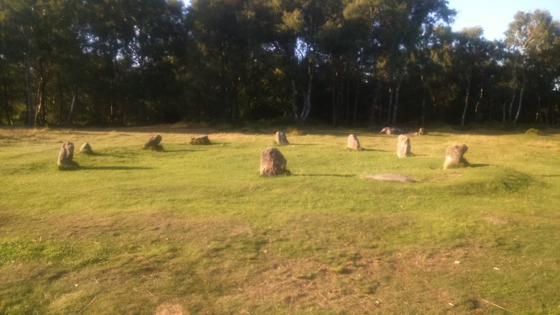 Nine Ladies Stone Circle, Stanton Moor, Birchover