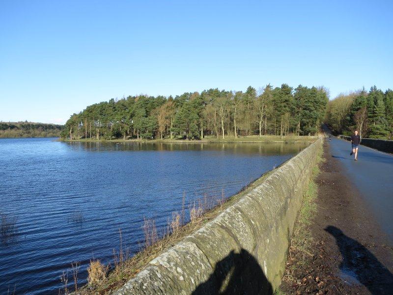 Stora promenader och fiske vid Swinsty och Fewston reservoarer