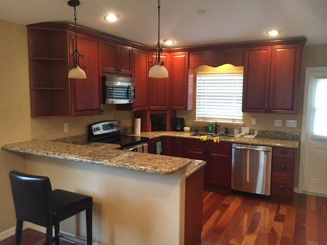 Voll ausgestattete Küche für Ihre Bequemlichkeit.