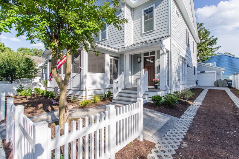 Welcome to 206 Munson Street- Brand New Home Just 2.5 Blocks from the Beach!  Two blocks from the Avenue!