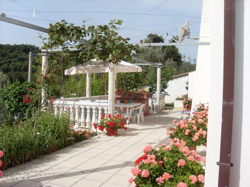 terrasse privée pour votre appartement