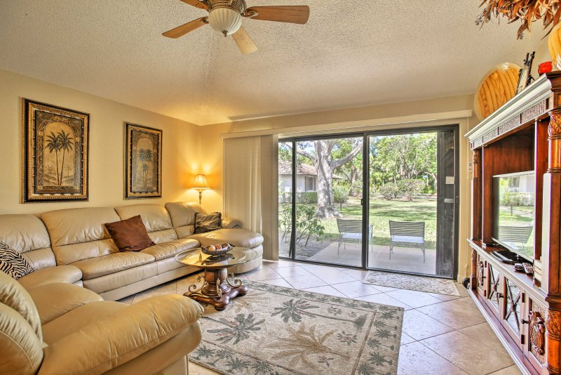 Discover Palm Beach Gardens from this vacation rental home!