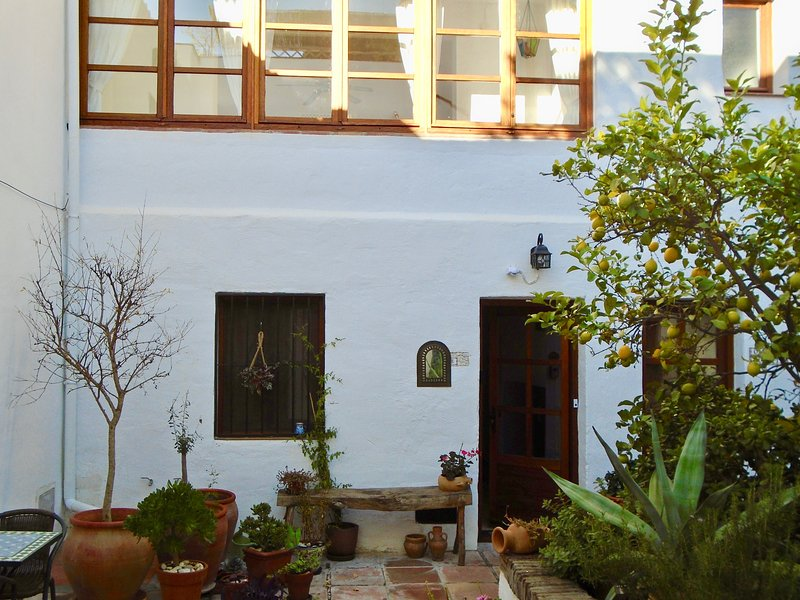 The only private courtyard shared between 4 properties on site of old village cinema