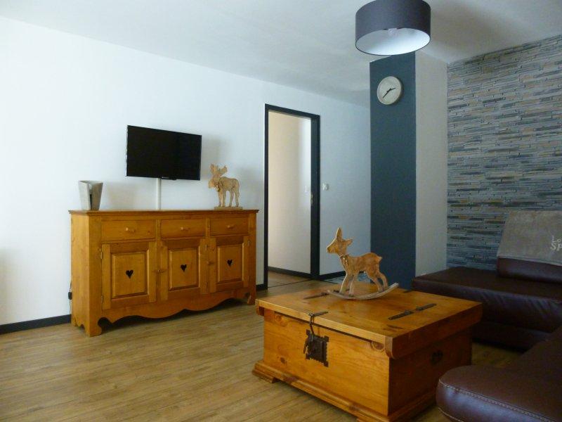 Appartement de vacances dans le jura, alquiler de vacaciones en Les Rousses