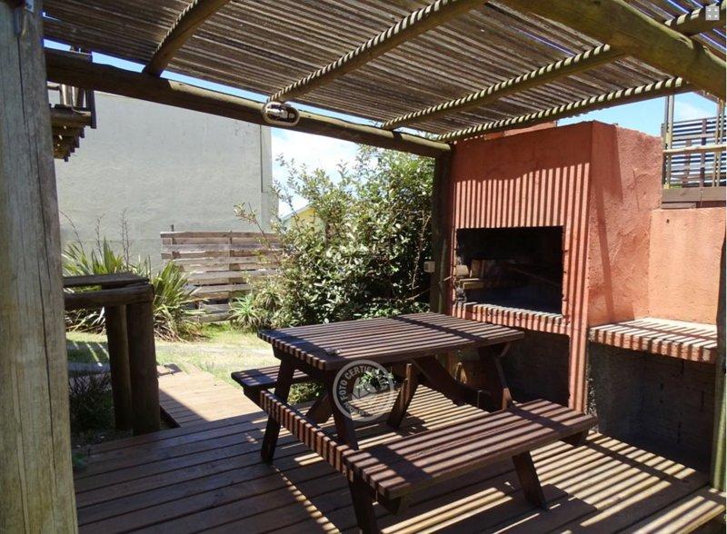 espacio de comedor al aire libre