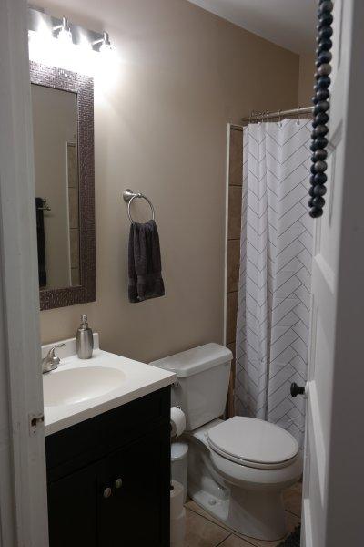 Actualizado baño completo