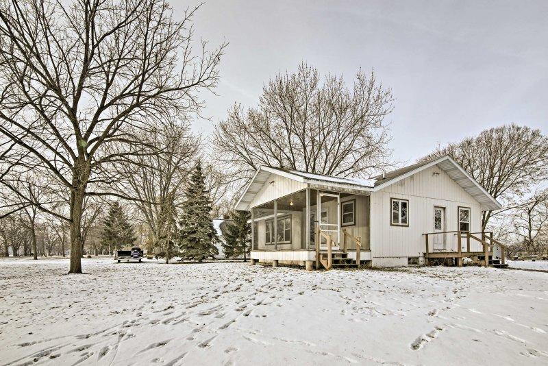 Haga un viaje a Lake Winnebago y alójese en esta casa de vacaciones.
