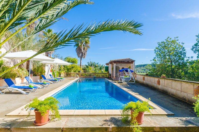 SABOR DE CAS FERRER - Villa for 6 people in MONTUÏRI, alquiler de vacaciones en Sant Joan