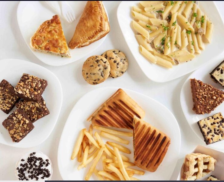 Sample Breakfast preparation by Mcreme cafe (Menu can be different than shown in pictures)