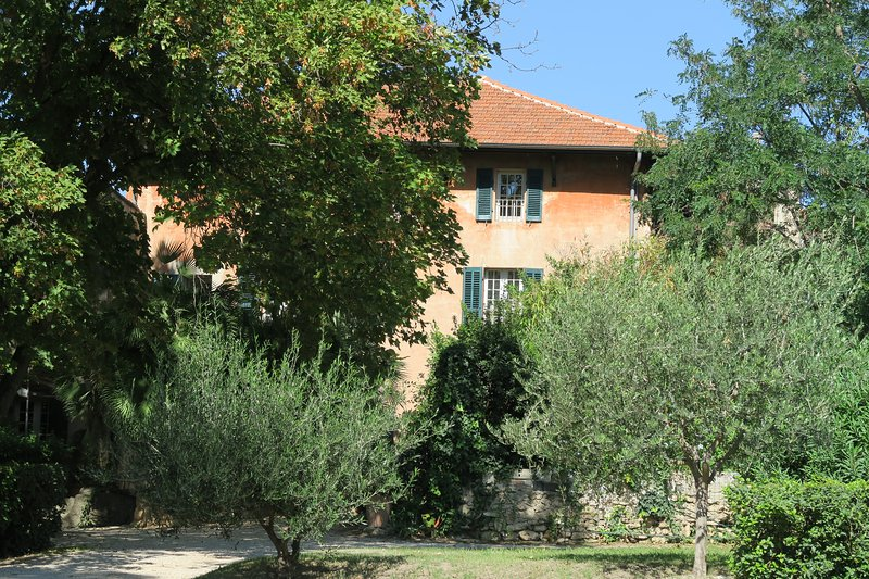 Our country house of the eighteenth with its olive trees