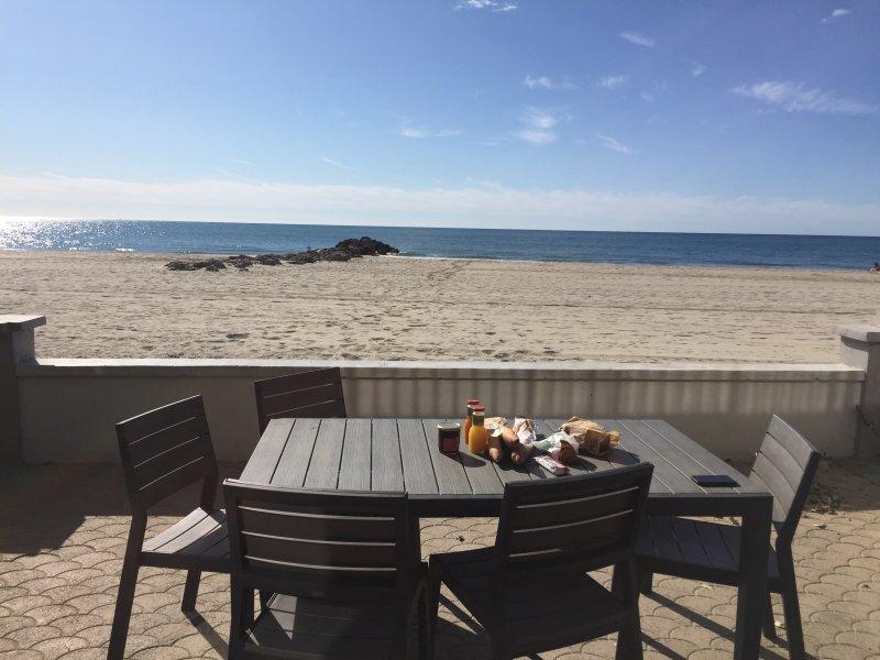 villa sur la plage, location de vacances à Palavas-les-Flots