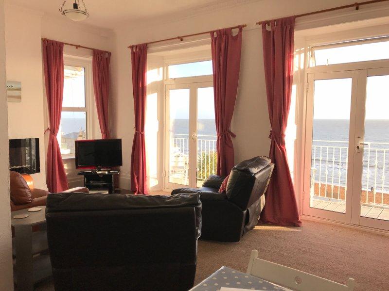 Sea view apartment, Ventnor - Salty Holidays, location de vacances à Ventnor