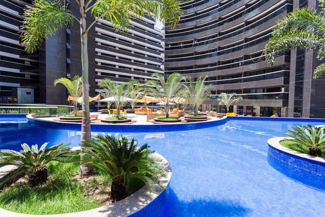 Apartamento LANDSCAPE BEIRA MAR - 1804 - Com vista para o mar, casa vacanza a Fortaleza
