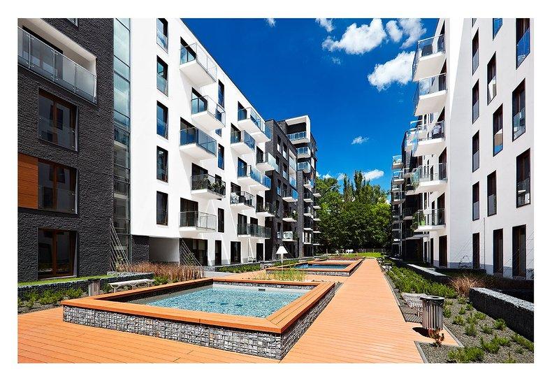 Travel Apartments Old Town Novum ++Olive++, casa vacanza a Wegrzce