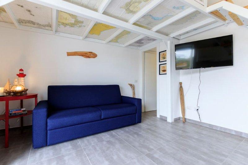 SaCaletta Romantico Monolocale a 20 passi dal mare (Marinaio), vacation rental in Portoscuso