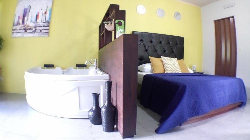 Chambres et jacuzzi
