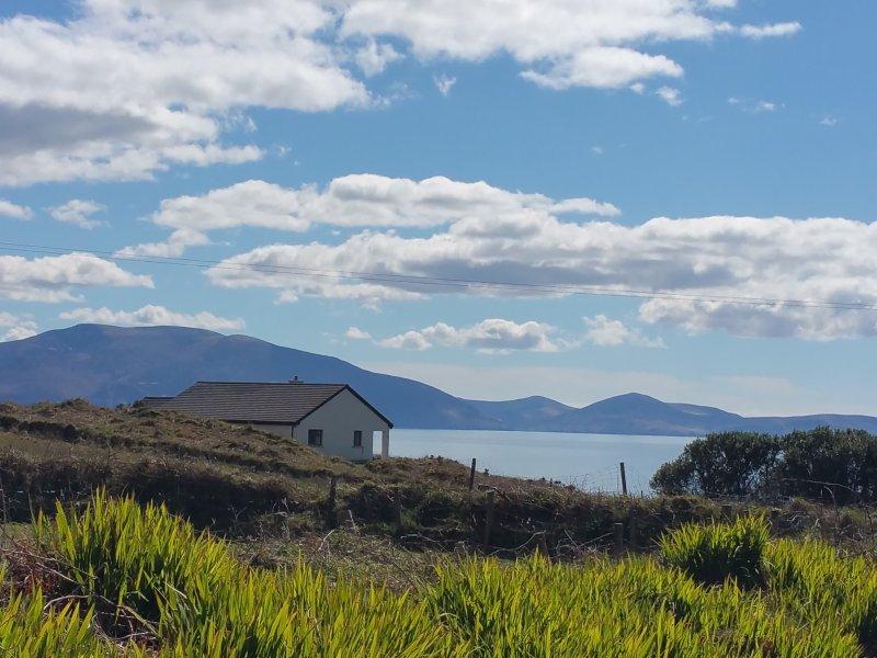 Belle vue sur l'océan de la propriété. L'une des nombreuses belles vues