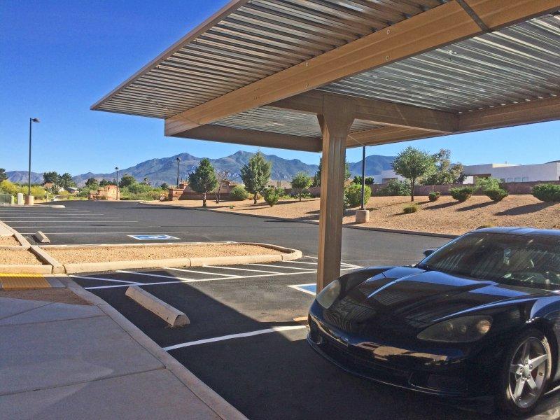 Parking couvert gratuit