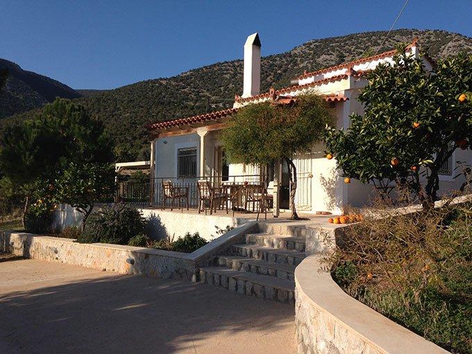 Il cottage dall'ingresso