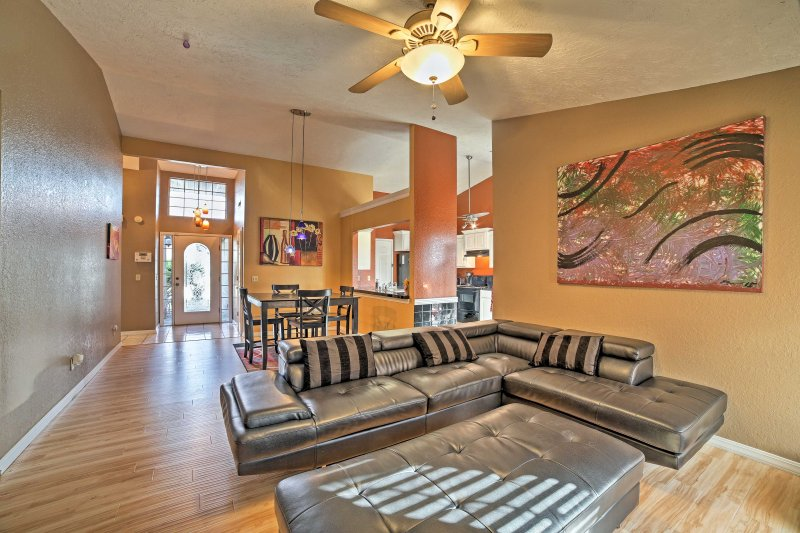 Book your family Fayetteville getaway at this vacation rental home!