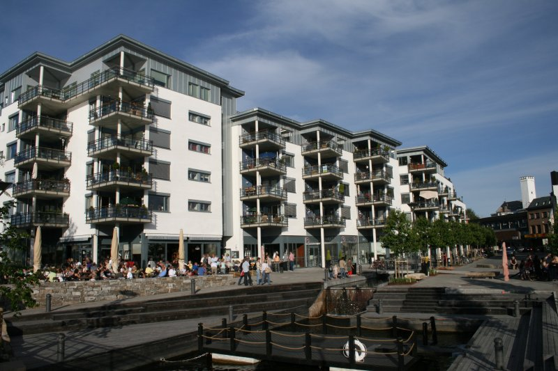 Upmarket apartment at Bratsberg Brygge, holiday rental in Skien